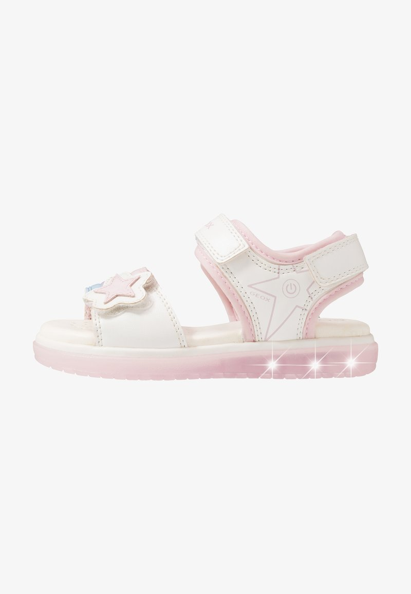 Geox - BLIKK GIRL - Sandals - white