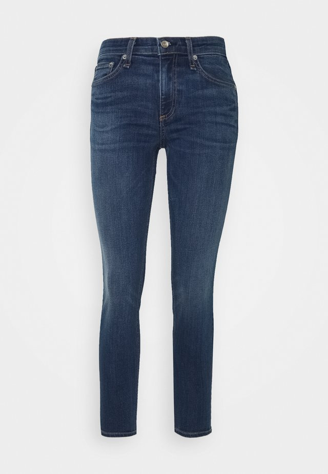 CATE MID RISE ANKLE SKINNY - Jeansy Skinny Fit - cliff