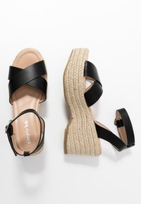 Simply Be - WIDE FIT TUSCANY - High heeled sandals - black - 3
