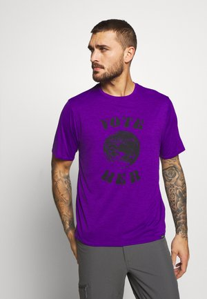 COOL DAILY GRAPHIC - Print T-shirt - purple