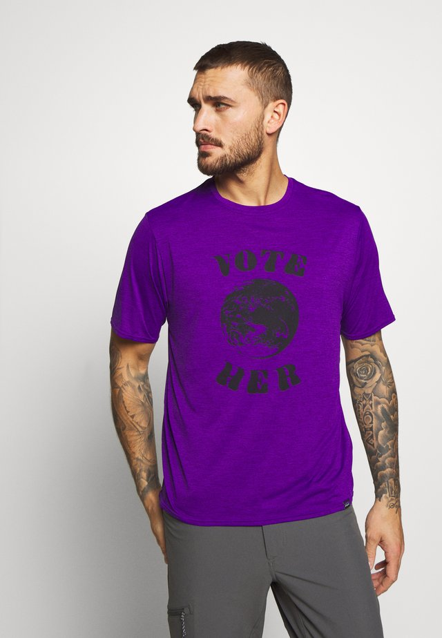 COOL DAILY GRAPHIC - Triko spotiskem - purple