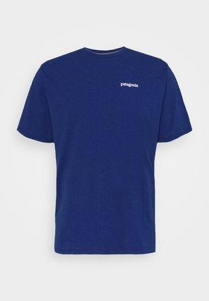 FITZ ROY HORIZONS RESPONSIBILI TEE - T-Shirt print - superior blue