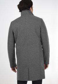 Solid - JAMPA - Classic coat - grey melange - 2