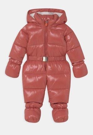 LUCK SHELL UNISEX - Combinaison de ski - clay pink
