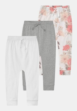 3 PACK - Trousers - optic white