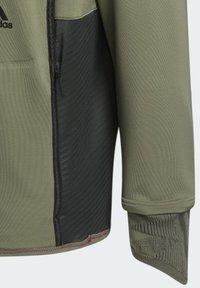 adidas Performance - PRIME COLD.RDY TOP CREW SWEATSHIRT - Sudadera - green - 7