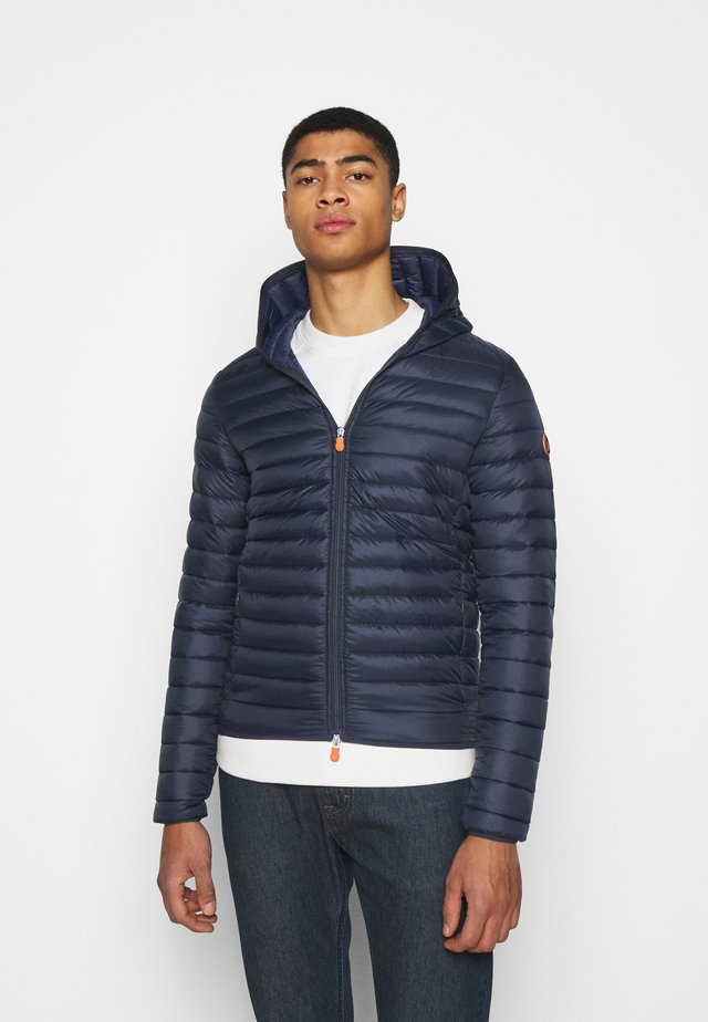 DONALD HOODED JACKET - Winterjas - blue black