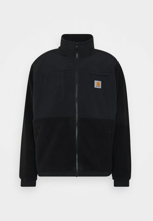 JACKET - Fleece jacket - black