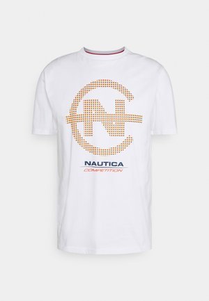 BINNACLE - T-shirt con stampa - white