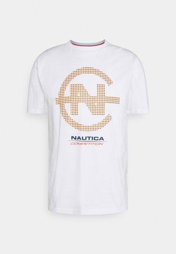 BINNACLE - Print T-shirt - white