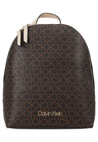 Calvin Klein - MONO BACKPACK  - Plecak - brown - 6