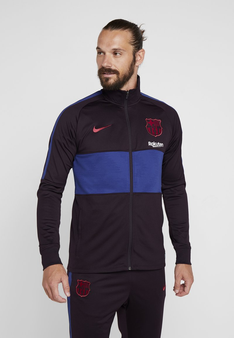 Nike Performance - FC BARCELONA DRY SUIT - Klubbkläder - burgundy ash/deep royal blue/noble red