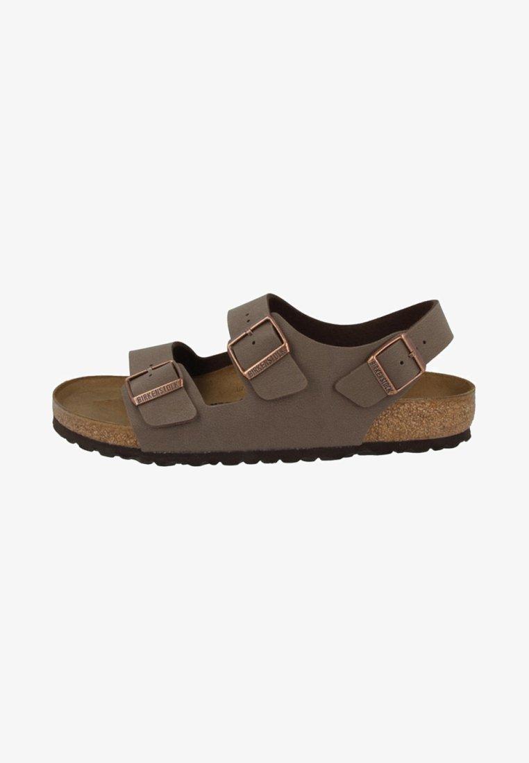Birkenstock - MILANO BIRKO-FLOR  - Walking sandals - brown