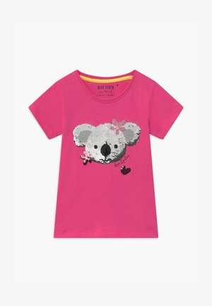 HAPPY KOALA - Print T-shirt - pink