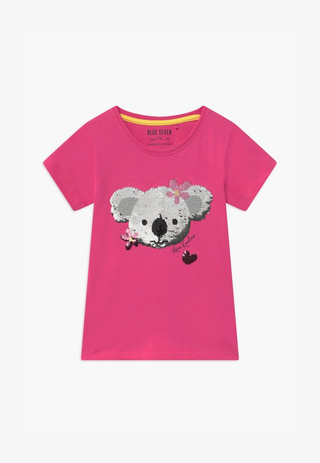 SMALL GIRLS KOALA - T-shirt con stampa - pink