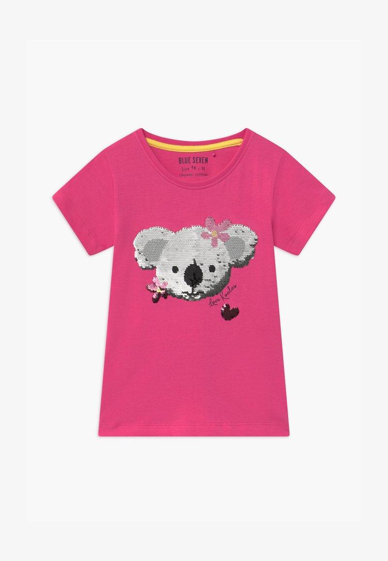 Blue Seven - HAPPY KOALA - T-shirts print - pink