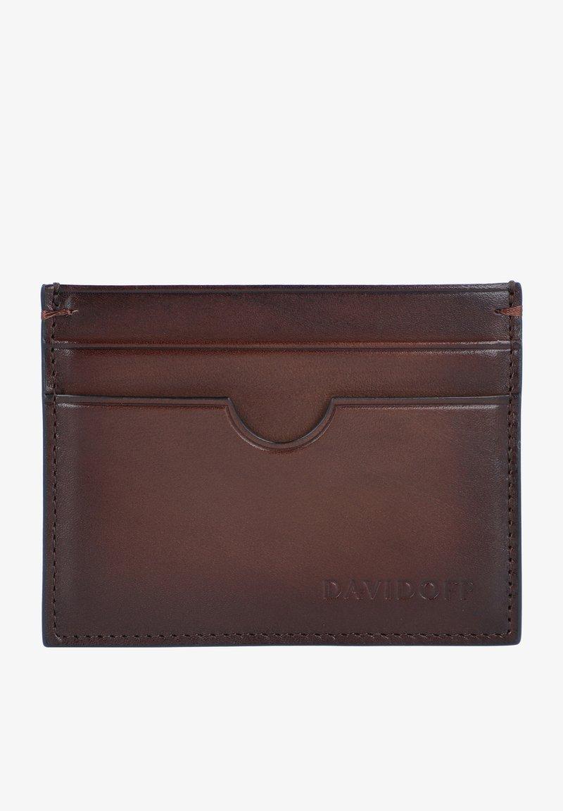 DAVIDOFF - VENICE - Business card holder - braun