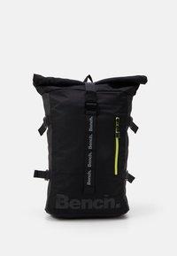 Bench - ROLL TOP BACKPACK - Tagesrucksack - black - 0