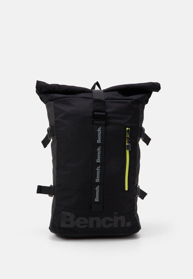 Bench - ROLL TOP BACKPACK - Tagesrucksack - black