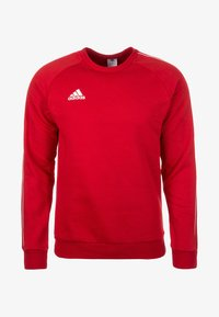 adidas Performance - CORE ELEVEN FOOTBALL LONG SLEEVE PULLOVER - Sudadera - red - 0