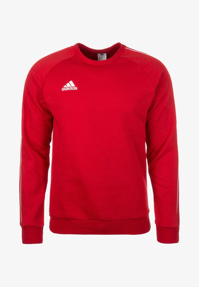 CORE ELEVEN FOOTBALL LONG SLEEVE PULLOVER - Felpa - red