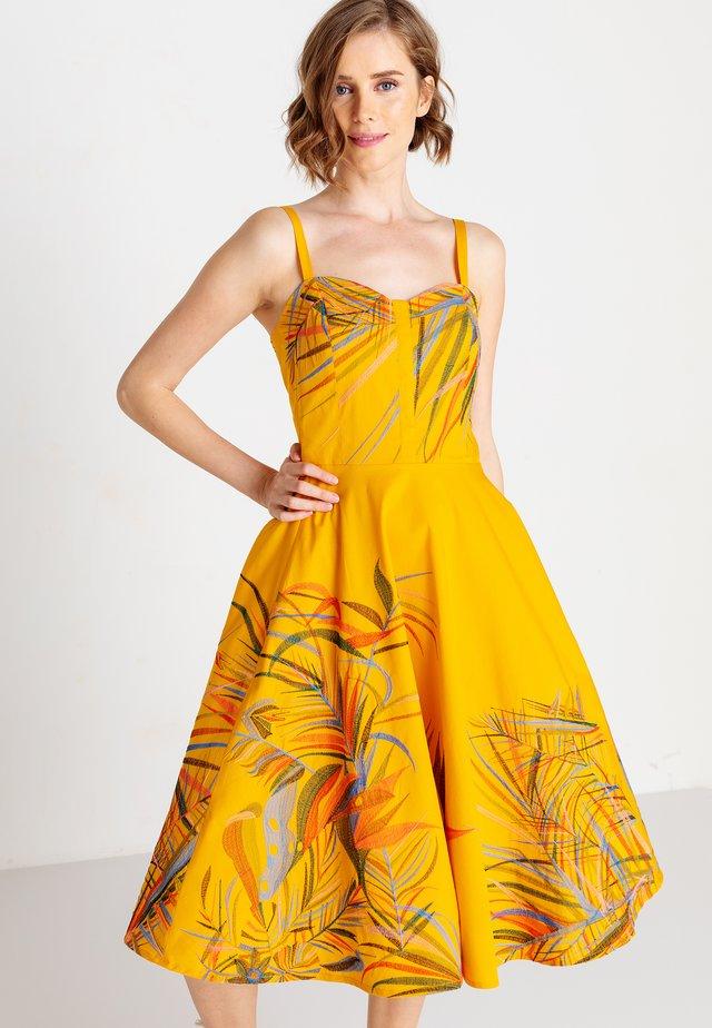 STRAP  - Korte jurk - golden