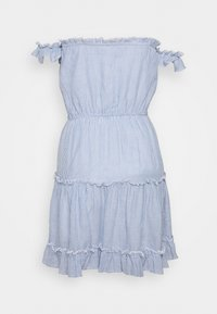 Nly by Nelly - CUTE OFF SHOULDER DRESS - Day dress - blue - 1