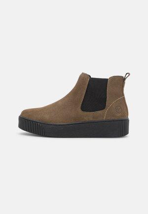 Kotníková obuv - olive/black