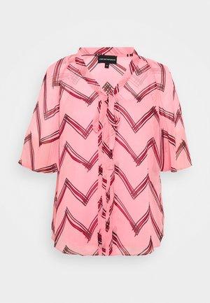 BLOUSE - Blouse - rosa fumetto
