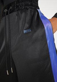 Diesel - P-ROZYN TROUSERS - Trousers - black - 5