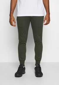 Jack & Jones - JJWILL PANTS - Tracksuit bottoms - forest night - 0