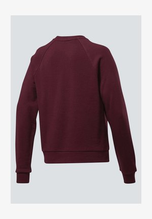 CLASSICS BIG VECTOR CREW SWEATSHIRT - Sweatshirt - burgundy