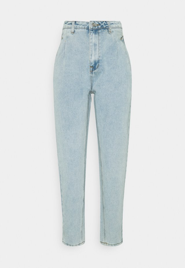 VINTAGE MOM - Jeans a sigaretta - blue