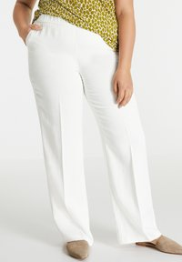 Samoon - Trousers - offwhite - 0