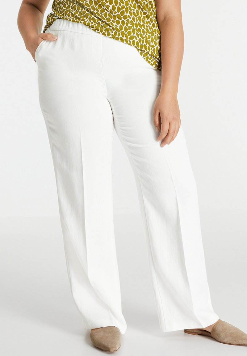 Samoon - Trousers - offwhite