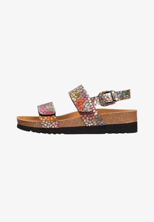GREENY GREENY  - Wedge sandals - mehrfarbig