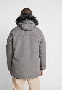 Hollister Co. - Parka - cationic grey print - 2