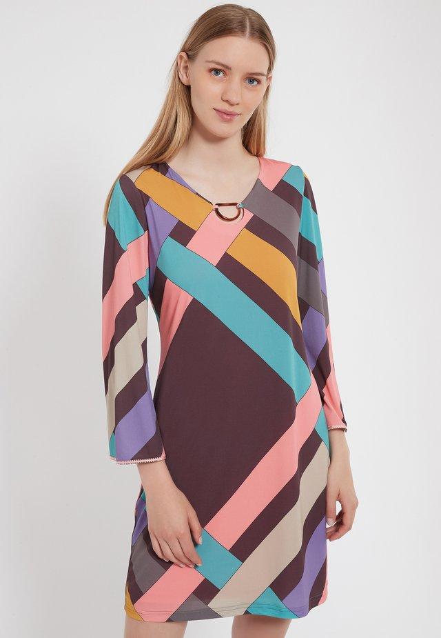 Robe en jersey - multi-coloured