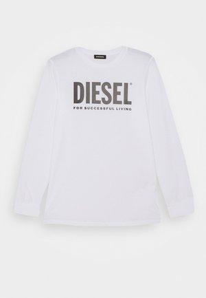 TJUSTLOGO ML MAGLIET UNISEX - Maglietta a manica lunga - bianco
