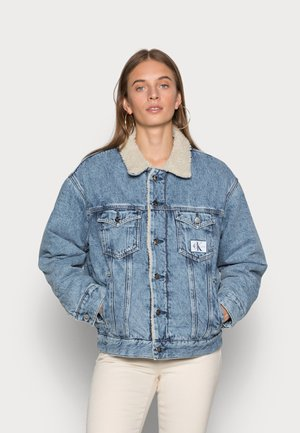 DAD JACKET - Denim jacket - denim light