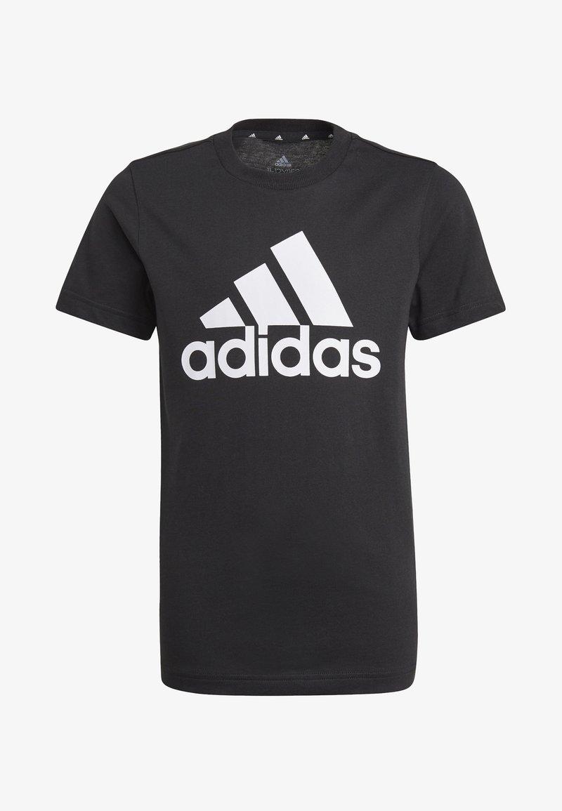 adidas Performance - UNISEX - Printtipaita - black/white