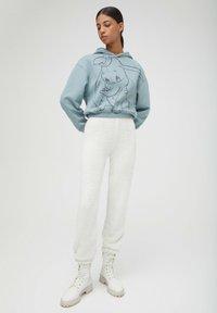 PULL&BEAR - DISNEY - Hoodie - mottled blue - 1