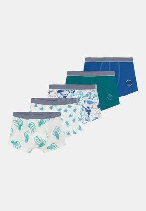 OCEAN PRINT 5 PACK  - Pants - dark blue/white