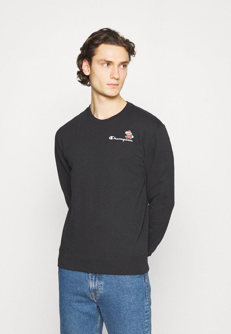 Champion Rochester - CREWNECK X NINTENDO - Sweatshirt - black
