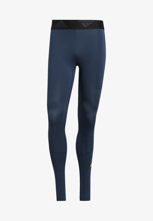 TURF 3 BAR LT PRIMEGREEN TECHFIT WORKOUT COMPRESSION LEGGINGS - Tights - blue