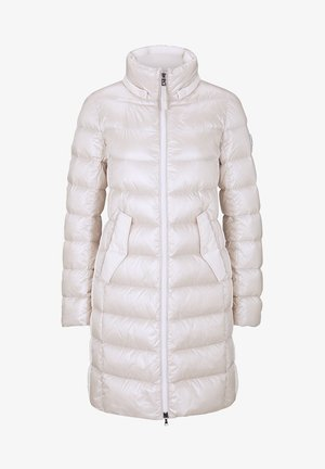 Winter coat - creme-weiß
