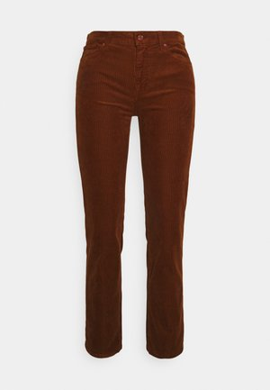 THE STRAIGHT CROP  - Kalhoty - brown