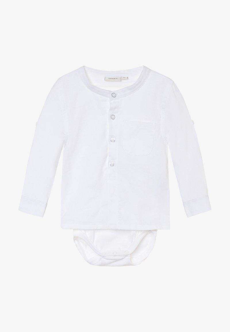 Name it - NBMFISH - Shirt - bright white