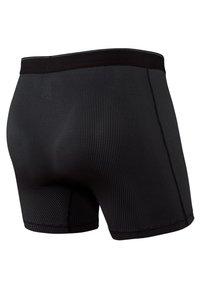 SAXX Underwear - QUEST TRUNK 2-PACK - Pants - Black/Dark Charcoal II - 3