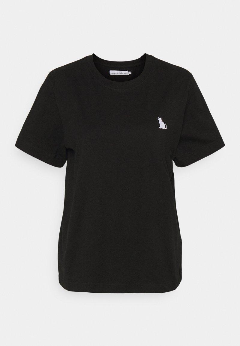 Dedicated - MYSEN CAT - Basic T-shirt - black
